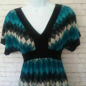 HeartSoul Dresses - HEART SOUL stretchy striped dress
